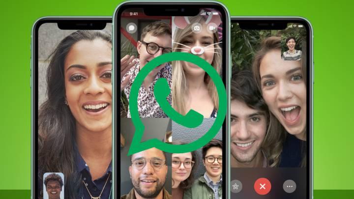 WhatsApp: ¿Cómo hacer videollamadas de hasta 8 personas?